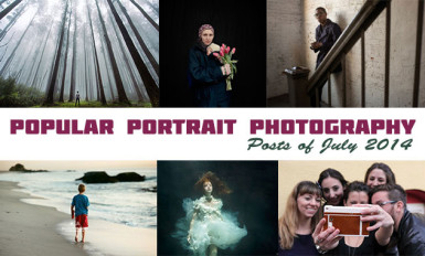 Popular portrait photography Posts of July 2014